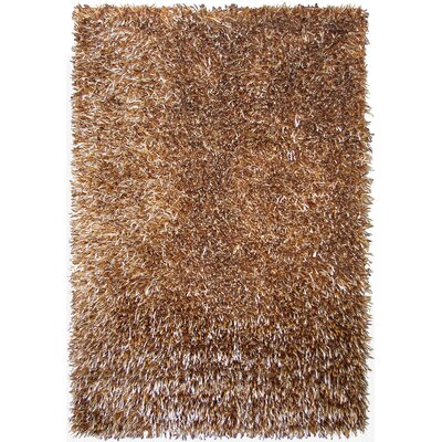 Epps Shag Brown Area Rug Rug Size: 5 x 73