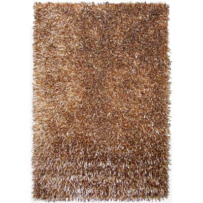 Epps Shag Brown Area Rug Rug Size: 75 x 96