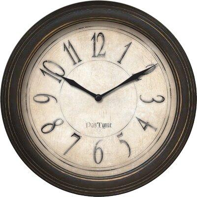 """9.75"""" Distressed Wall Clock 25516"""