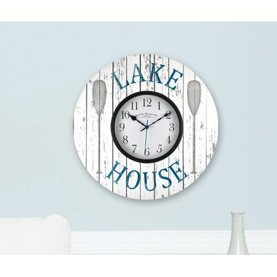 15.5 Lake House Wall Clock
