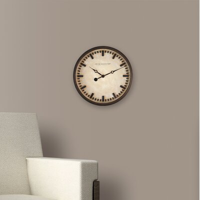 10.25 Raised Bronze Wall Clock