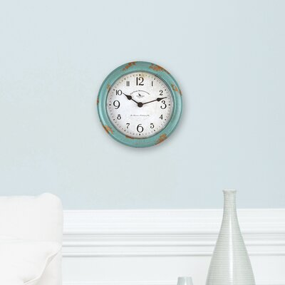 Patina 9 Wall Clock