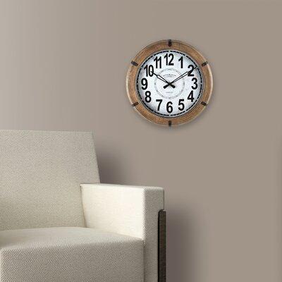14.5 Modern Rustic Wall Clock
