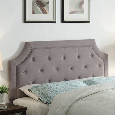 Clairmont Upholstered Panel Headboard Size: King