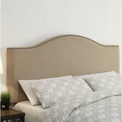 Clapham Upholstered Panel Headboard Size: King