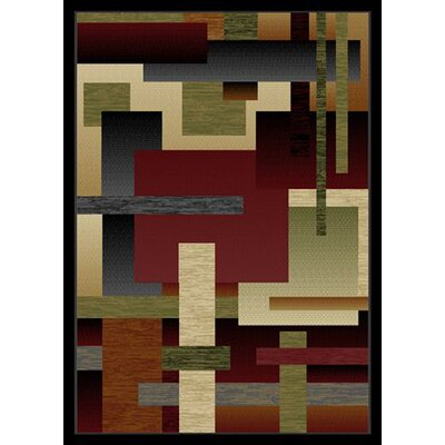 City Angle Area Rug Rug Size: 8 x 10