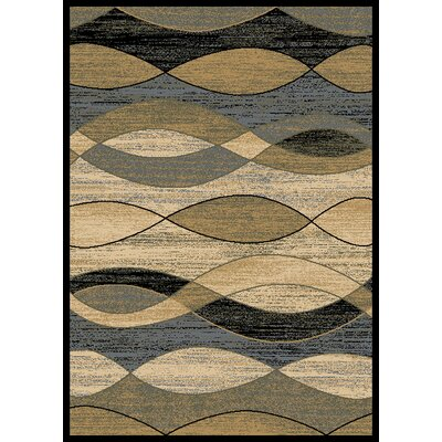 City Surf Ivory Area Rug Rug Size: 5 x 8