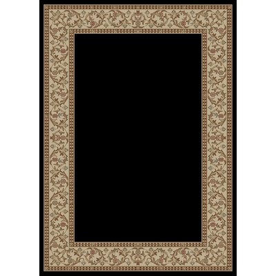 Hometown Bella Ebony Area Rug Rug Size: 8 x 10