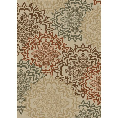 Hometown Karma Antique Area Rug Rug Size: 5 x 8