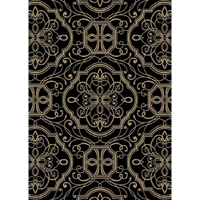 Hometown Empire Ebony Area Rug Rug Size: 5 x 8