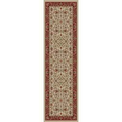 Hometown Classic Keshan Antique Area Rug Rug Size: Runner 2 x 12