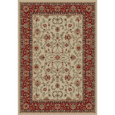 Hometown Classic Keshan Antique Area Rug Rug Size: Rectangle 2 x 4