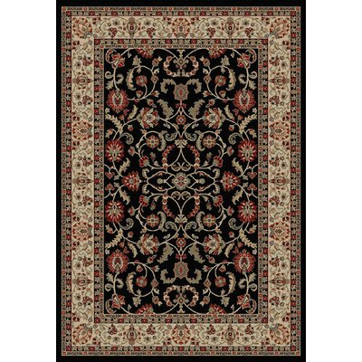 Hometown Classic Keshan Ebony Area Rug Rug Size: Rectangle 8 x 10
