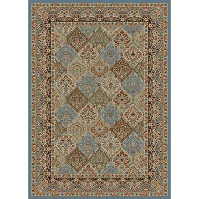 Hometown Panel Kerman Area Rug Rug Size: 5 x 8
