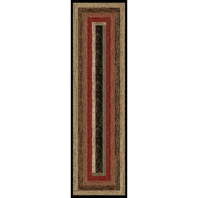 Hearthside Rustic Panal Multi Area Rug Rug Size: Runner 22 x 77