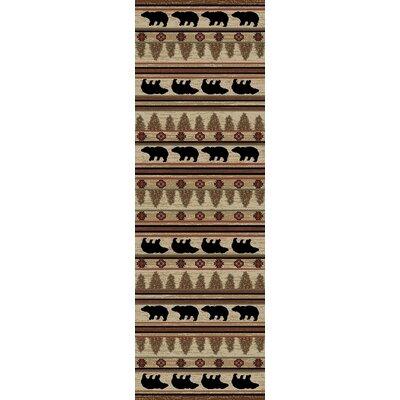 Hearthside Ebony Area Rug Rug Size: Runner 22 x 77