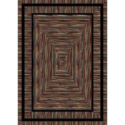 American Destinations Brown Area Rug Rug Size: 5 x 8