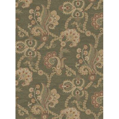 Heritage Casual Elegance Sage Area Rug Rug Size: 710 x 910
