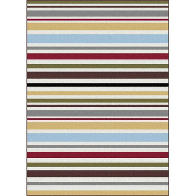 Urban Contemporary Area Rug Rug Size: Rectangle 53 x 73
