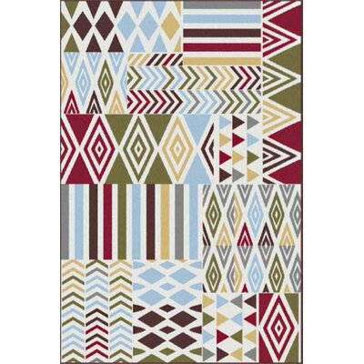 Urban Contemporary Abstract Area Rug Rug Size: 53 x 73
