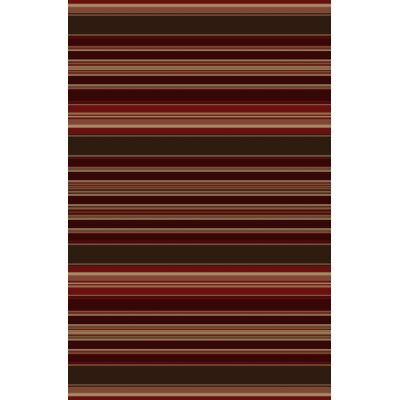 Lodge King Red Area Rug Rug Size: 53 x 77