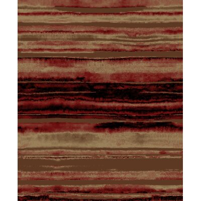 Lodge King Red/Brown Area Rug Rug Size: 710 x 910