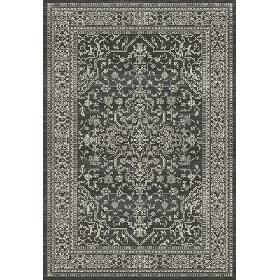 Stratford Cleo Brown Area Rug Rug Size: 53 x 77