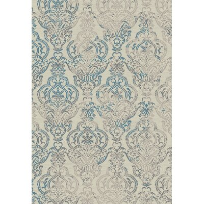 Stratford Victoria Ivory Area Rug Rug Size: Rectangle 710 x 910