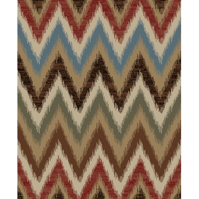 Hearthside Reverb Lodge Multi Area Rug Rug Size: 710 x 910