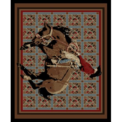American Destinations El Paso Rodeo Multi Area Rug Rug Size: 53 x 73