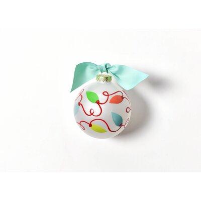Lights Glass Ornament CHMAS-TWINKLE