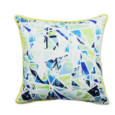 Exotic Profusion Artistic Decorative Cotton Throw Pillow