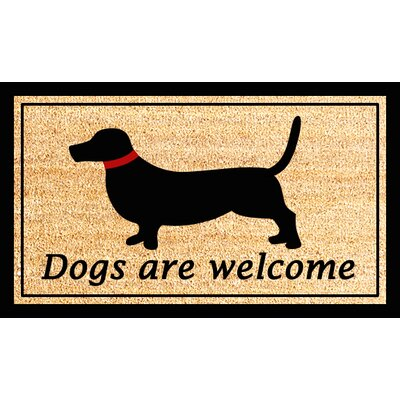 Dogs Are Welcome Doormat