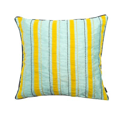 Exotic Profusion Stripe Decorative Cotton Throw Pillow