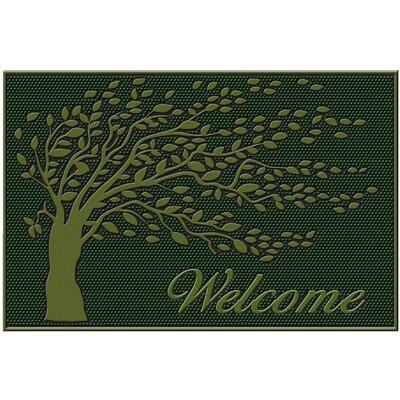 Shredding Leaf Doormat