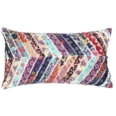 Potpourri Patchwork Cotton Throw Pillow