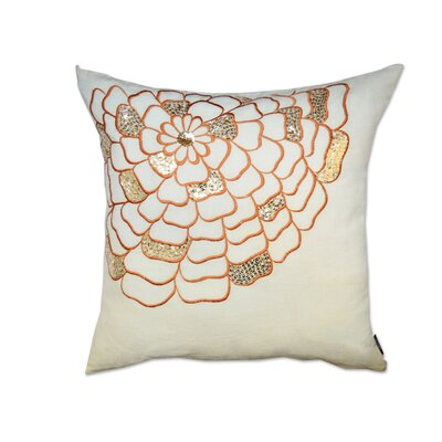 Potpourri Sequin Cotton Throw Pillow