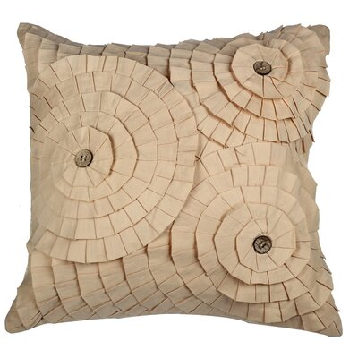 Potpourri Cotton Throw Pillow