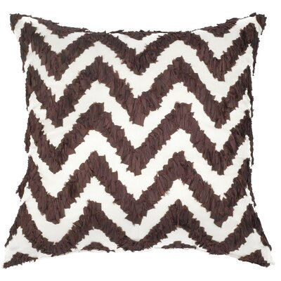 Potpourri Ruched Chevron Throw Pillow