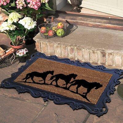 Running Horses Doormat