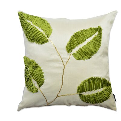 Potpourri Patchwork Leaf Decorative Throw Pillow
