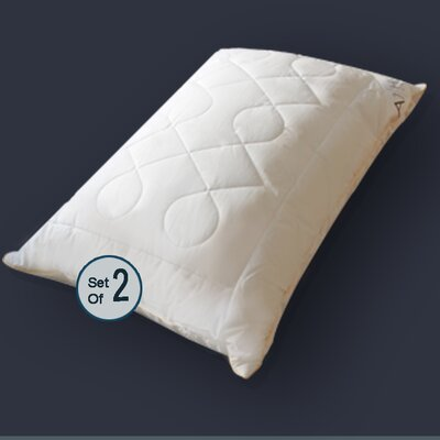 Diamond Chain Microfiber Down Alternative Queen Pillow