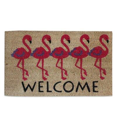 Flamingo Welcome Doormat