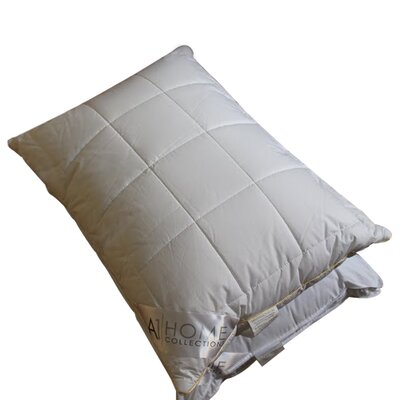 Box Microfiber Down Alternative Queen Pillow