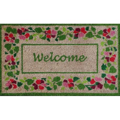 Summer Flower Doormat