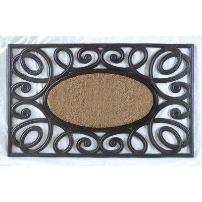 Elegant Circles Princess Doormat