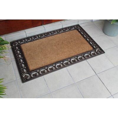 Classic Paisley Border Double Doormat