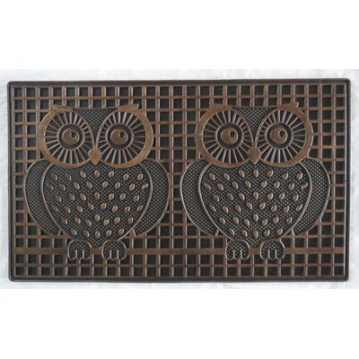 Pin Twin Owls Doormat