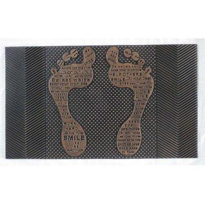 Pin Funny Feet Doormat