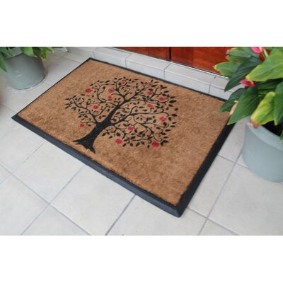 Tree Double Doormat